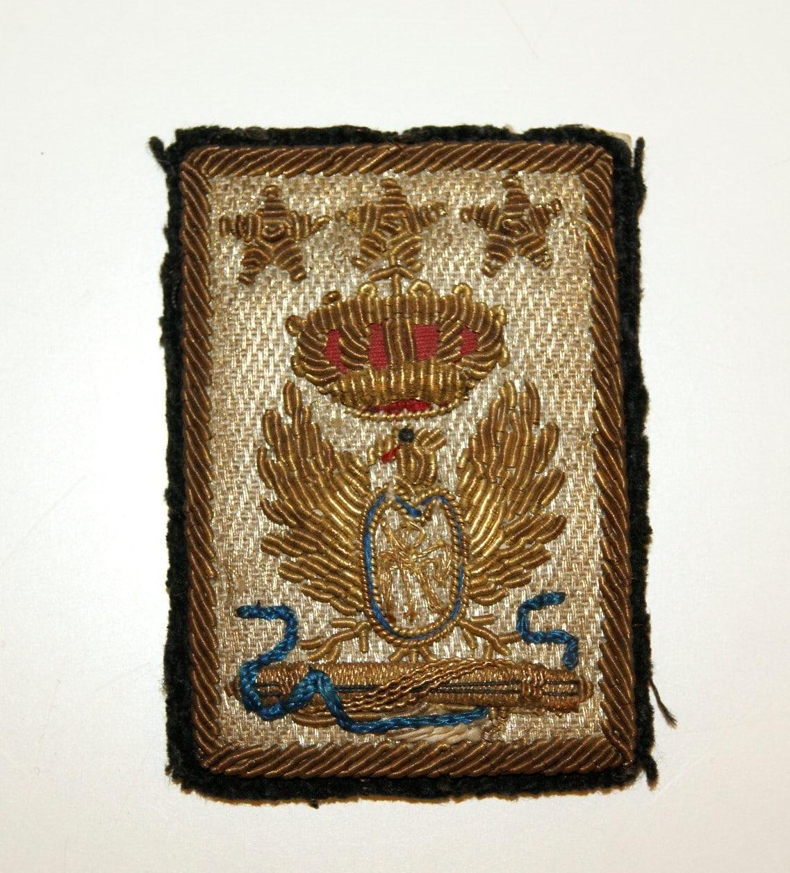 Distintivo da dirigente nazionale dell'associazione arma di cavalleria